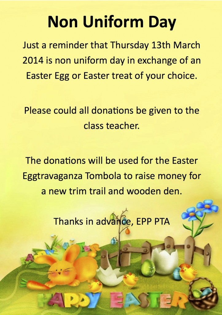 Easter Non Uniform